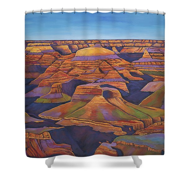 Shadows And Breezes Shower Curtain