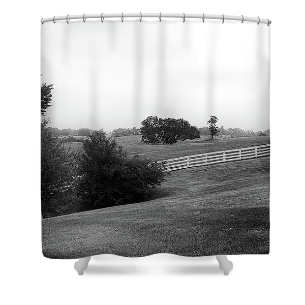 Shaker Field Shower Curtain
