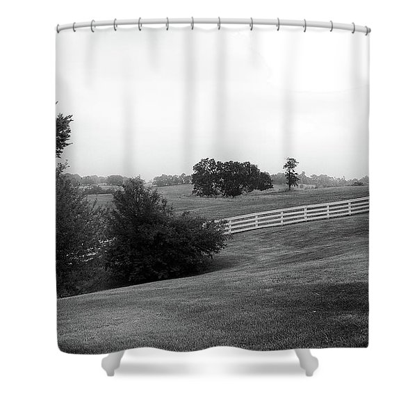 Shaker Field Shower Curtain