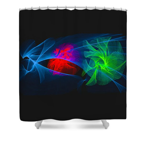 Shapes And Colours #i1 Shower Curtain