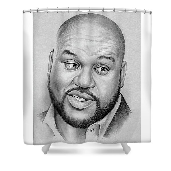 Shaq Shower Curtain