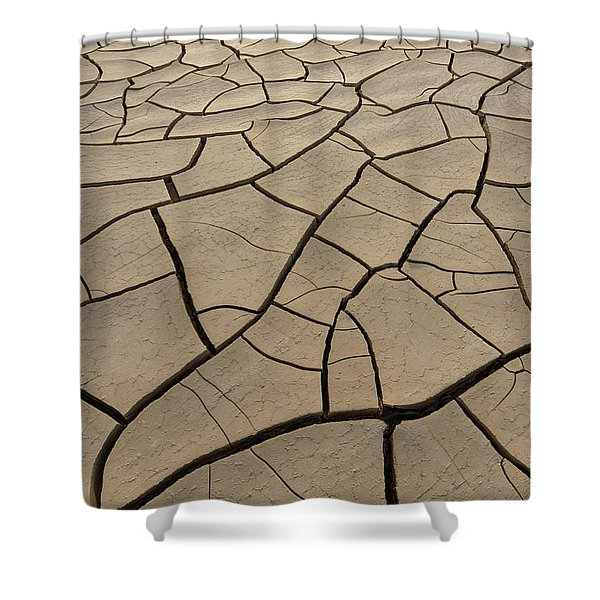 Shattered Grounds Shower Curtain