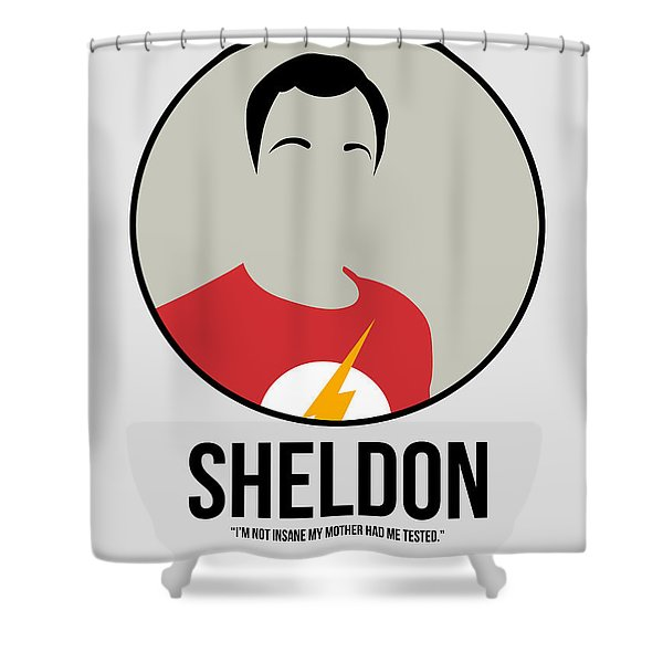 Sheldon Portrait Shower Curtain