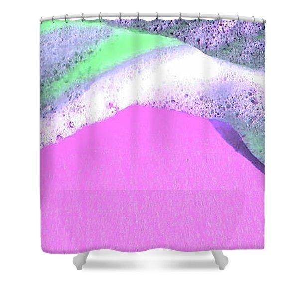 Sherbet Shores Shower Curtain