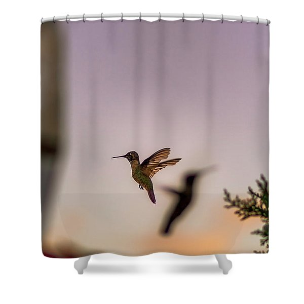 Shift Change Shower Curtain