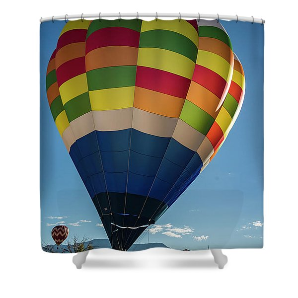 Shining Light Shower Curtain