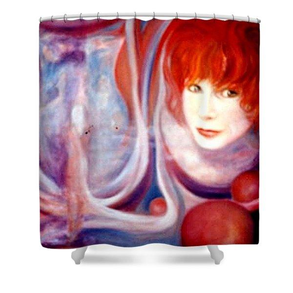 Shirley Incarnate Shower Curtain