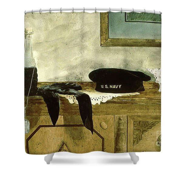 Shore Leave Shower Curtain