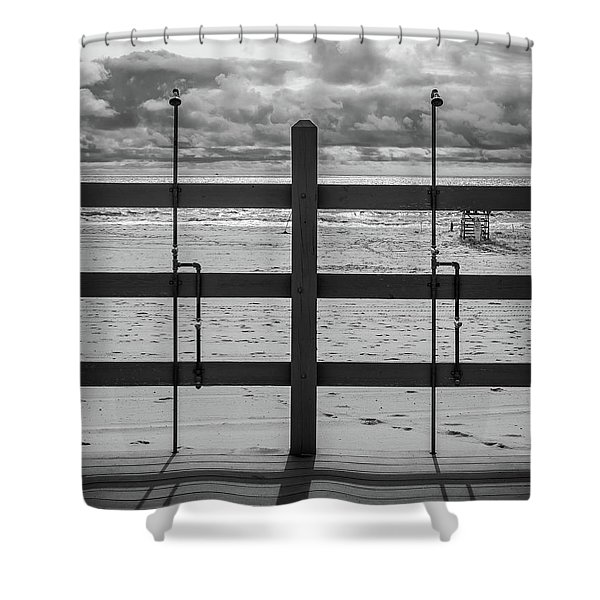 Showers Shower Curtain
