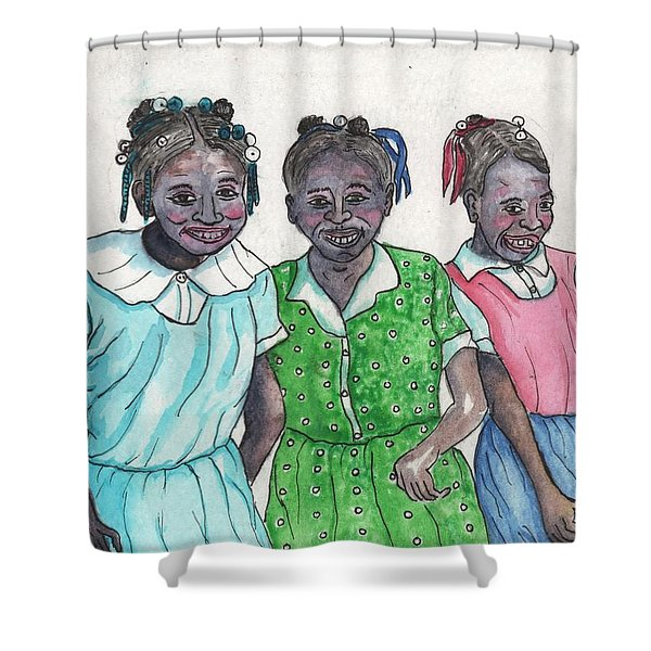 Shy Girls From South Alabama Shower Curtain