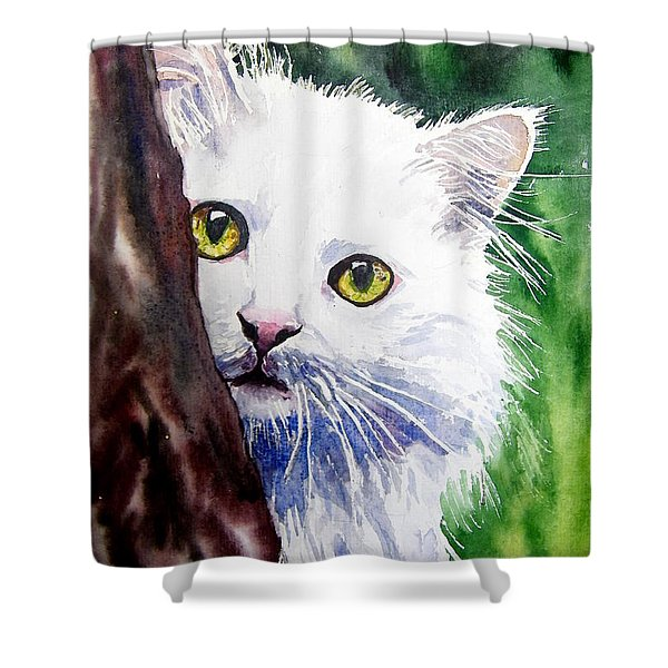 Shy One Shower Curtain