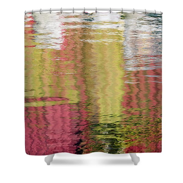 Siding Salesman Shower Curtain