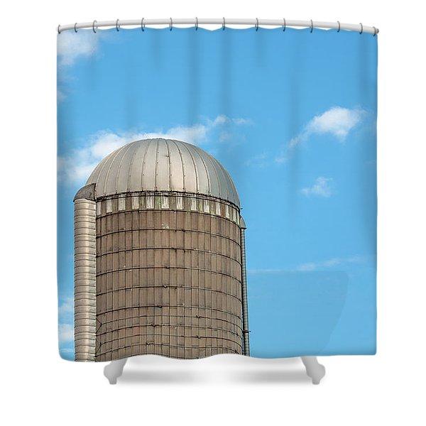 Silo Top Shower Curtain