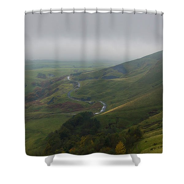 Shivering Mountain,  Shower Curtain