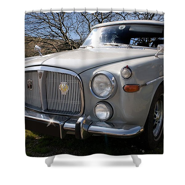 Silver Rover P5b 3.5 Ltr Shower Curtain