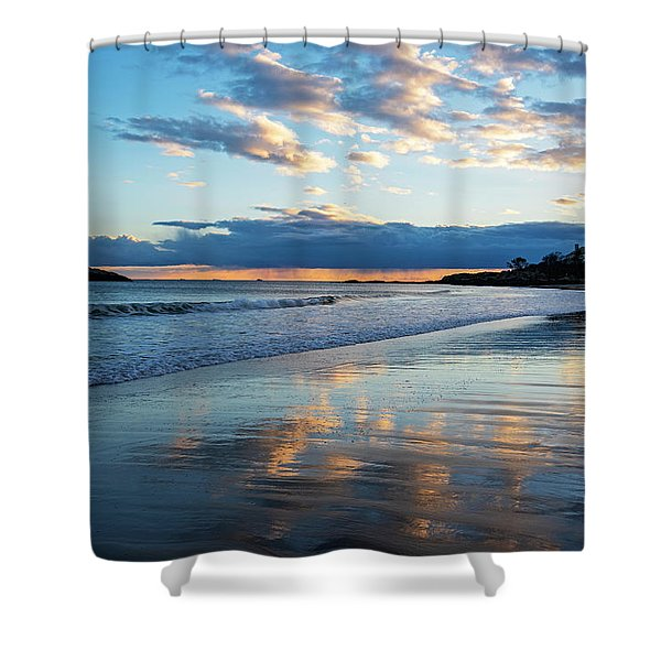 Singing Beach Sunset Manchester Ma North Shore Shower Curtain