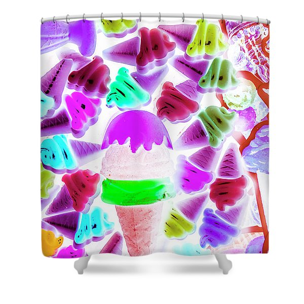 Sinking Into Sweet Uncertainty Shower Curtain
