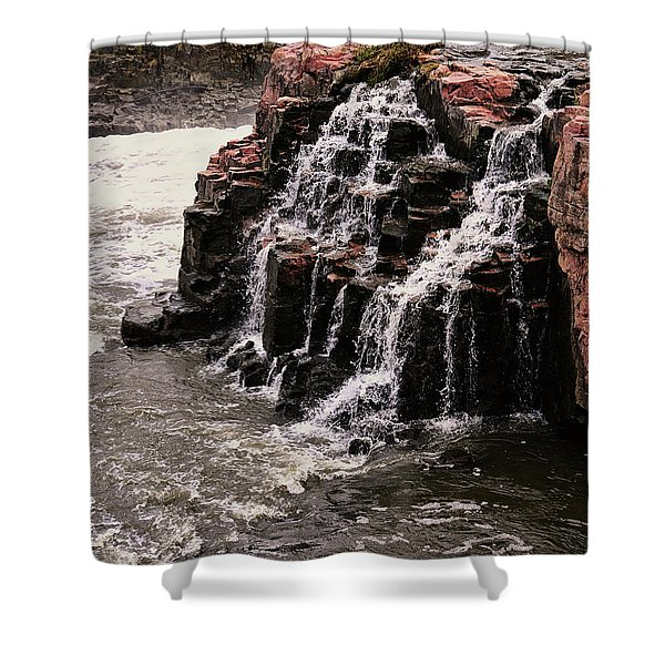 Shower Curtain featuring the photograph Sioux Falls South Dakota United States Of America by Gerlinde Keating - Galleria GK Keating Associates Inc