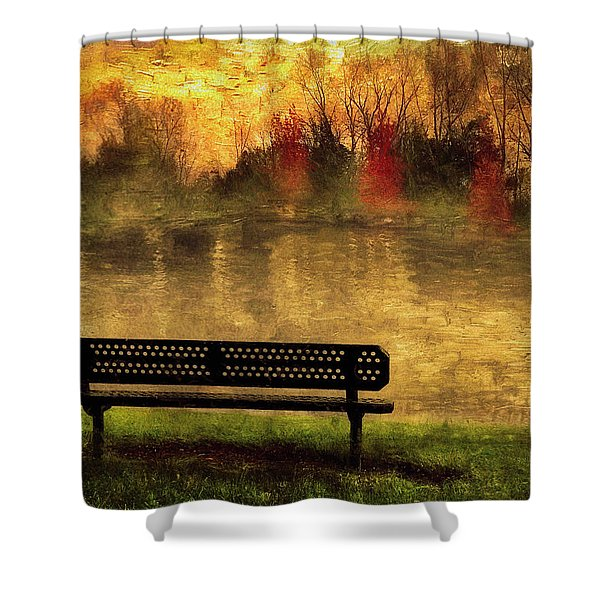 Sit And Admire Shower Curtain