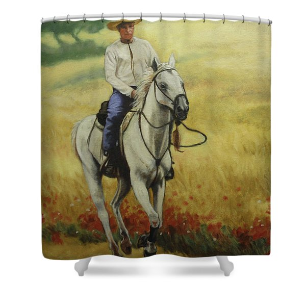 Six Feet Off The Ground Shower Curtain