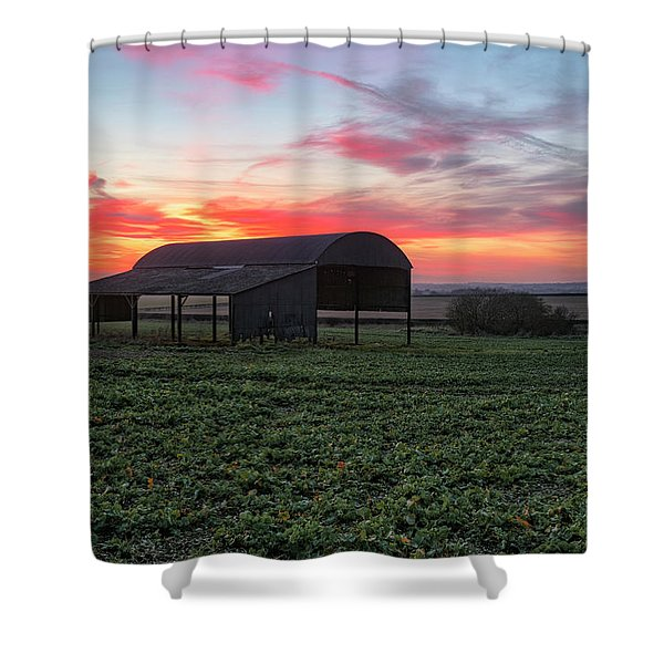 Sixpenny Handley - England Shower Curtain