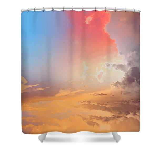 Sky Fight Shower Curtain