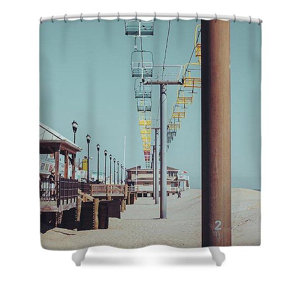 Sky Ride Shower Curtain