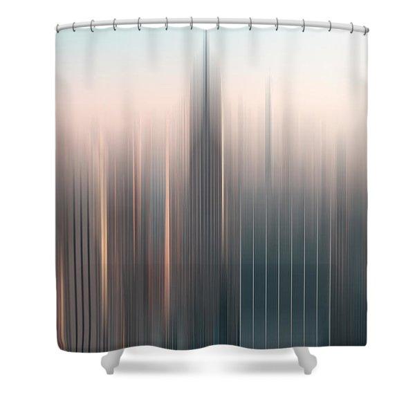 skyline I Shower Curtain