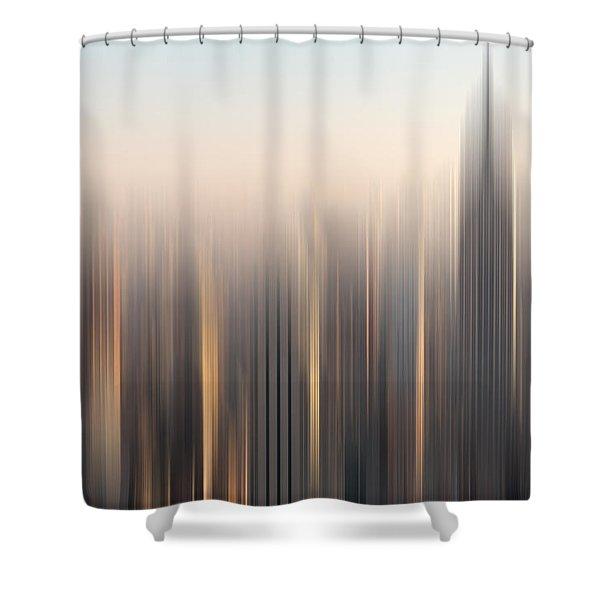 skyline II Shower Curtain