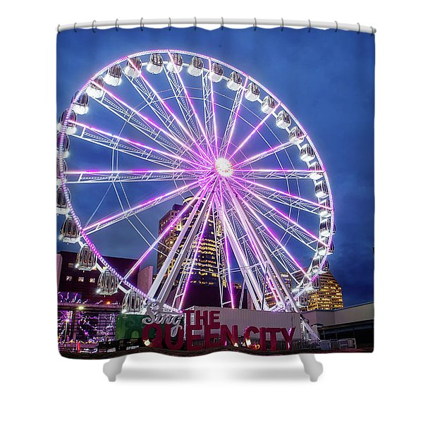 Skystar Ferris Wheel Shower Curtain