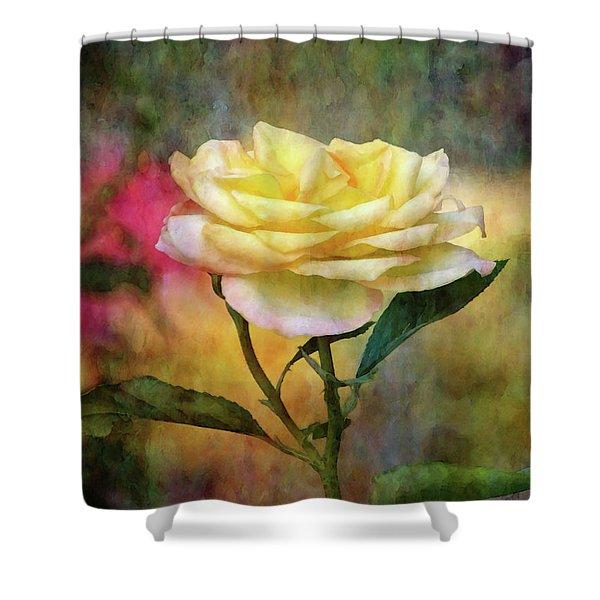 Slight Yellow 5570 Idp_2 Shower Curtain
