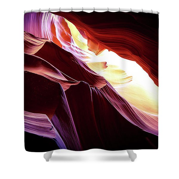 Slots Ceilings Glow, 2016 Shower Curtain