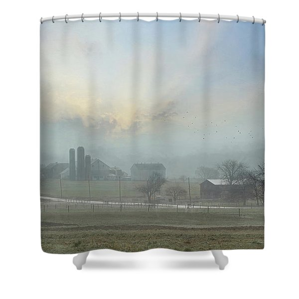 Slow Down And Enjoy Life Shower Curtain