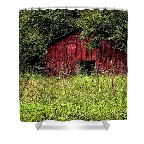 Small Barn 3 Shower Curtain