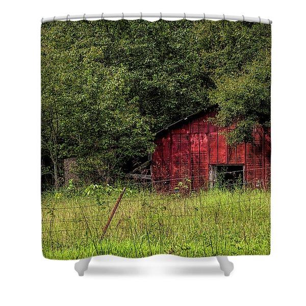 Small Barn Shower Curtain