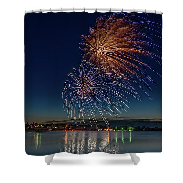 Small Town 4th Shower Curtain