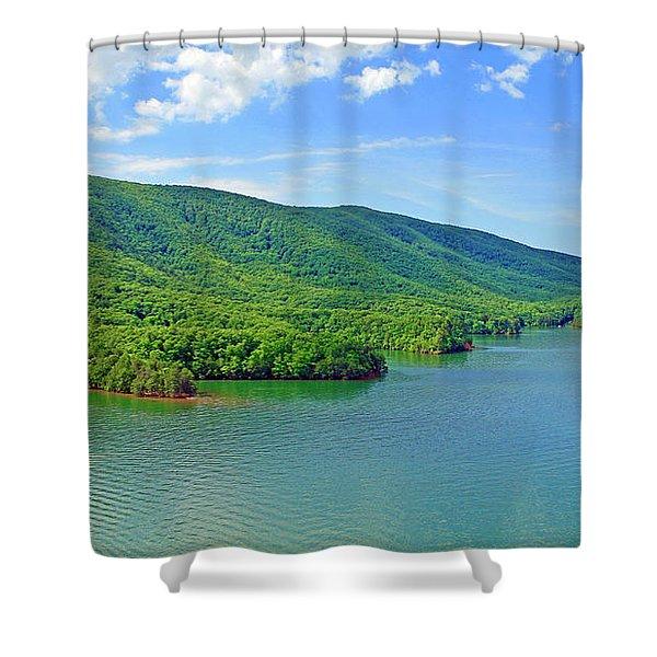 Smith Mountain Lake Shower Curtain
