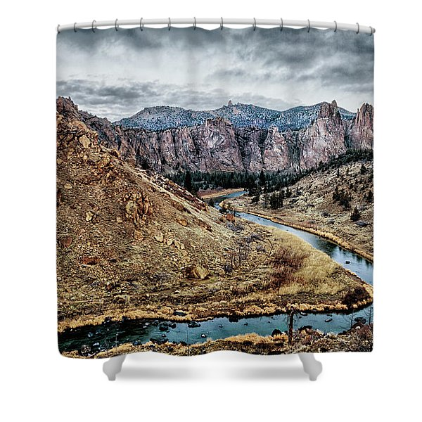 Smith Rock State Park 5  Shower Curtain