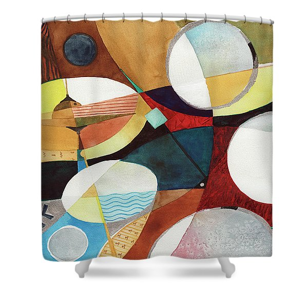 Snare And Hi-hat Shower Curtain