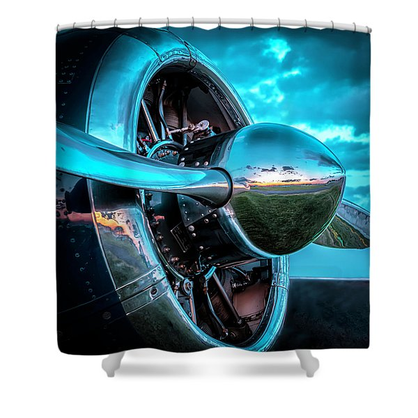Snj-5 Texan Shower Curtain