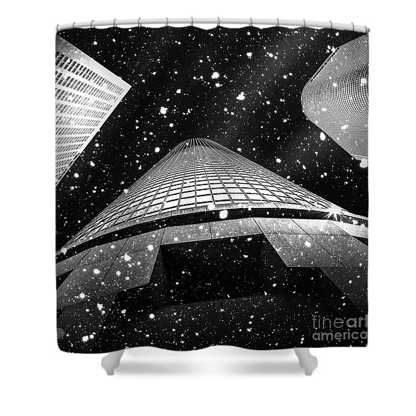 Snow Collection Set 01 Shower Curtain