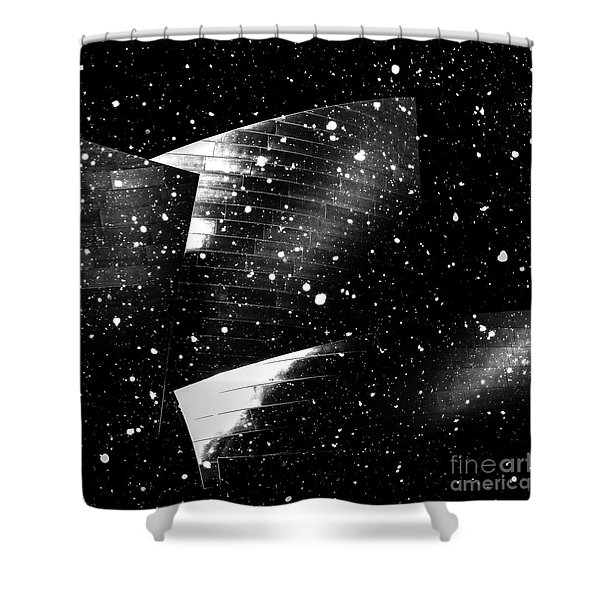 Snow Collection Set 02 Shower Curtain