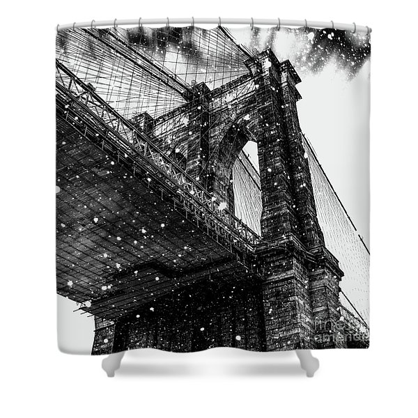 Snow Collection Set 08 Shower Curtain