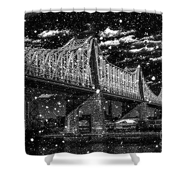 Snow Collection Set 10 Shower Curtain