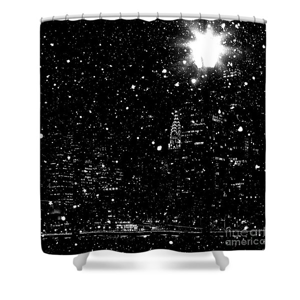 Snow Collection Set 11 Shower Curtain