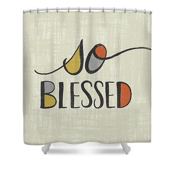 So Blessed Fall Art Shower Curtain