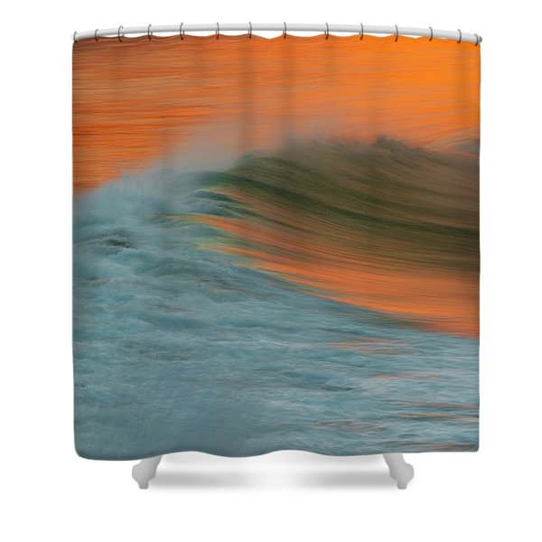 Soft Wave Shower Curtain