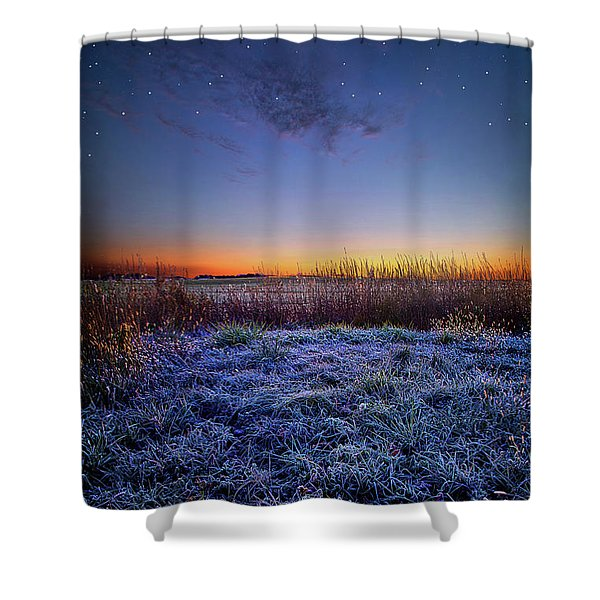 Softly Spoken Prayers Shower Curtain