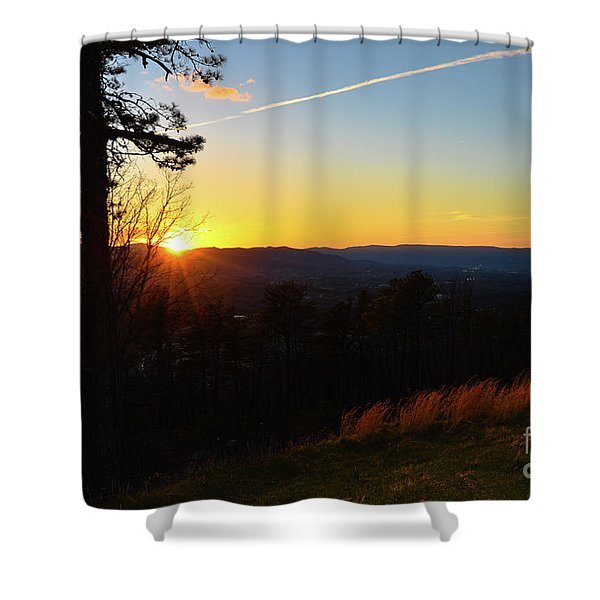 Solace And Pine Shower Curtain