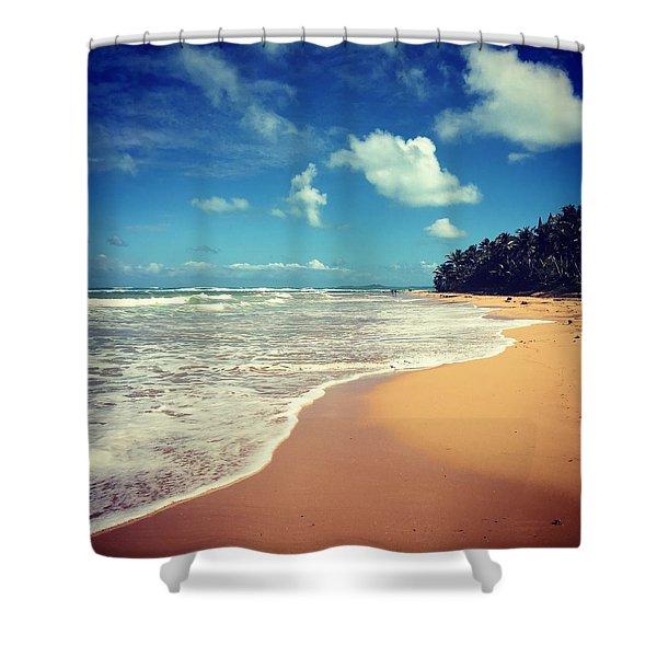 Solitude Beach Shower Curtain